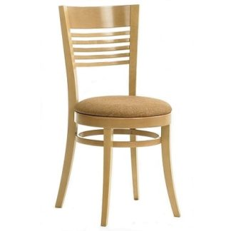 Side Chair Curved Back And Seat   Dining Chairs   SHSALC