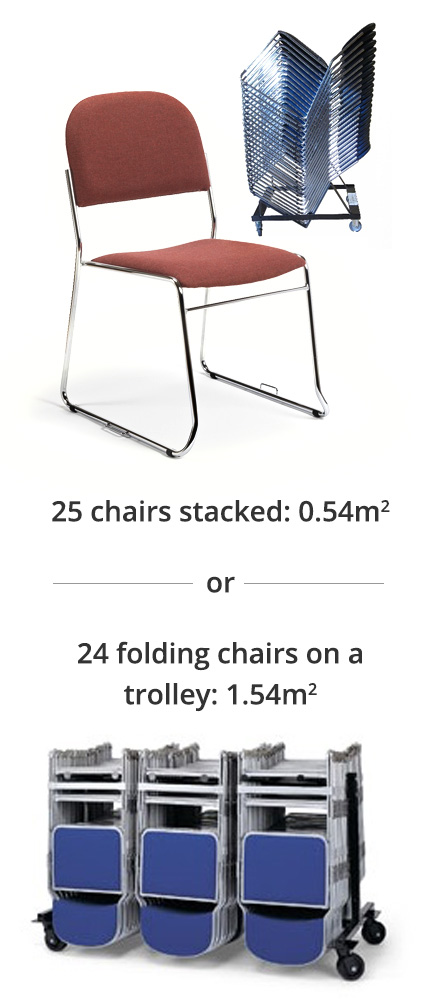 High Stacking Chairs
