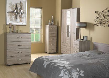 STAMFORD Bedroom Furniture Set | Bedside Tables | STAM-SET