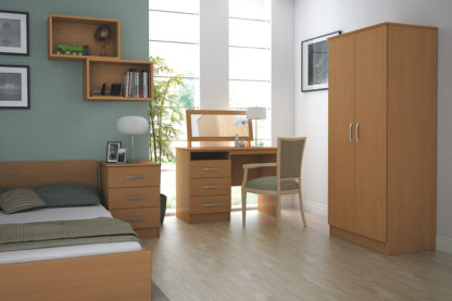 Standard Range 3-Drawer Narrow Unit | Bedside Tables | BRCB1D