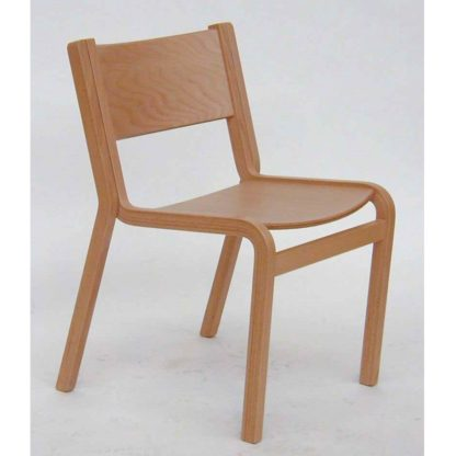 Titus High-Stacking Wooden Church Chair | Cathedral Range Chairs | TITUS