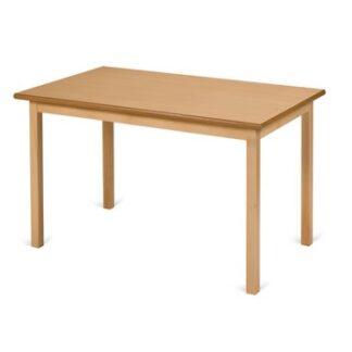 Traditional Hardwood Framed Dining Table - Rectangular | Café/Dining Tables | TWD1