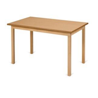 Traditional Hardwood Framed Dining Table - Rectangular | Café/Dining Tables | TWD2