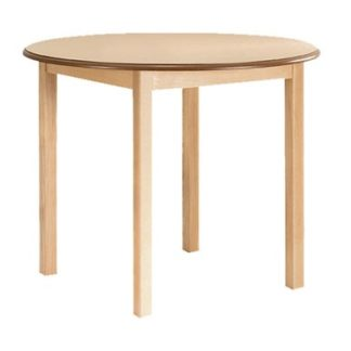 Traditional Hardwood Framed Dining Table - Round | Café/Dining Tables | TWDC