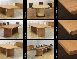 Hyform Options | Bespoke Boardroom Tables | HYF