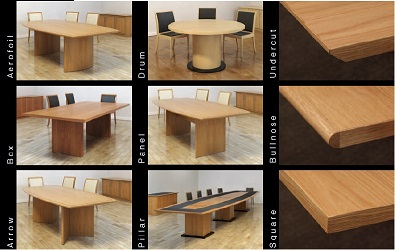 Hyform Options | Bespoke Boardroom Tables | HYF