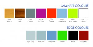 Laminate Colour Ranges Enviro Dining