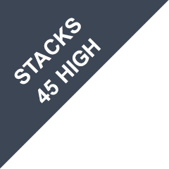 Stacks 45 high